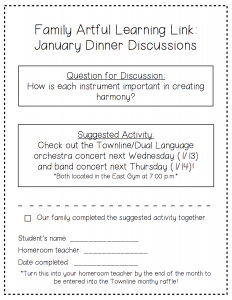 January Dinner Discussions PDF