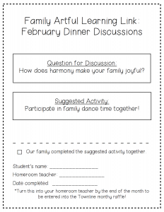 February Dinner Discussions PDF